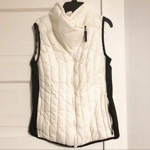 Calvin Klein Performance White/Black Puffer Vest